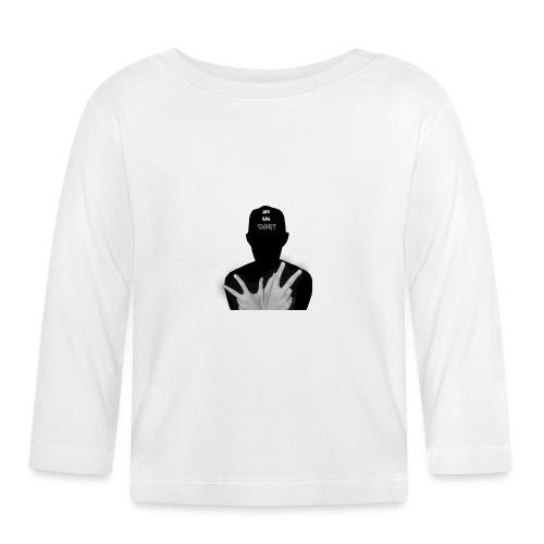JAG SÅG SVART - Långärmad T-shirt baby