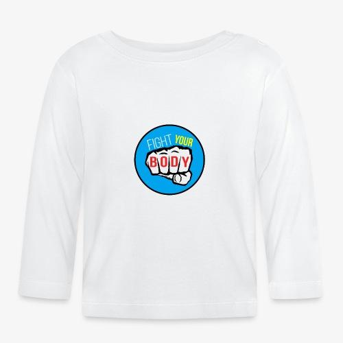 logo fyb bleu ciel - T-shirt manches longues Bébé