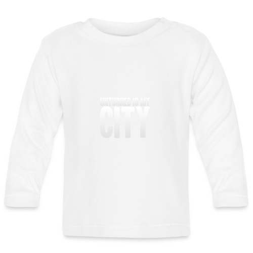 Unturned is my city - Baby Long Sleeve T-Shirt