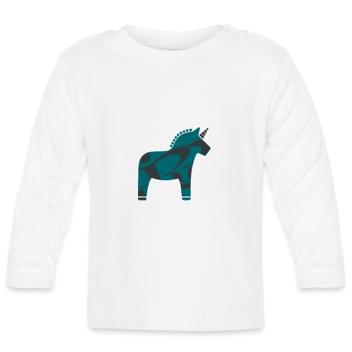 Swedish Unicorn - Baby Langarmshirt