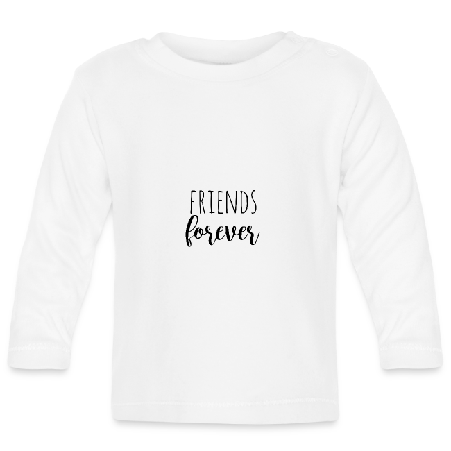 Friends forever - black -Design für Zwillinge