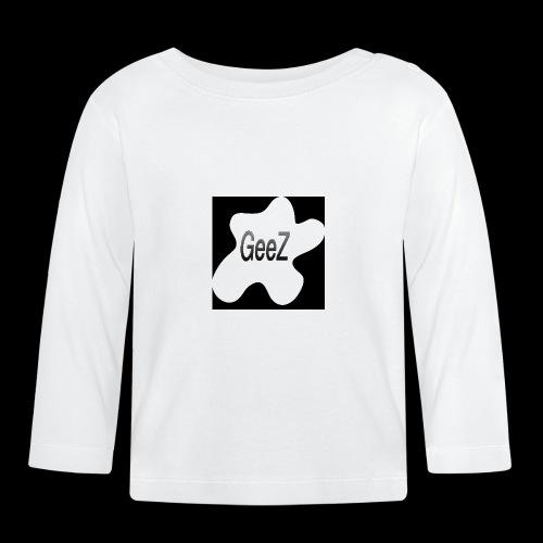 Black/white Art - Baby Long Sleeve T-Shirt