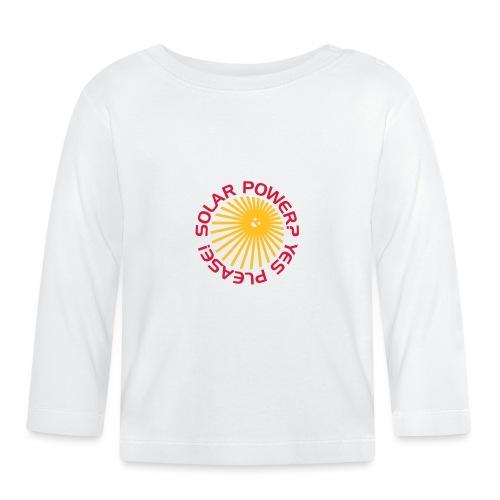 BD Solar Power - Baby Langarmshirt