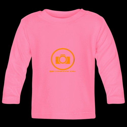 Orange 2 png - Langærmet babyshirt