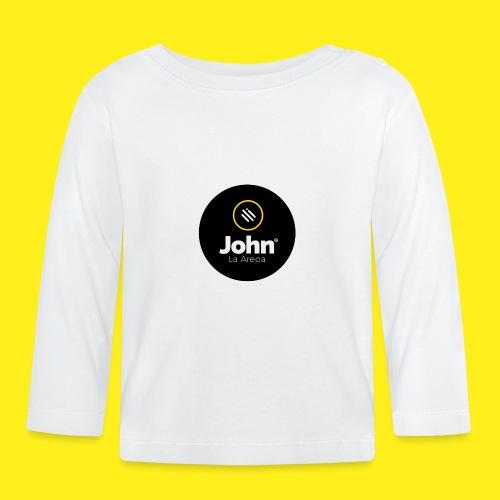 logo john - Camiseta manga larga bebé