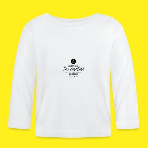FRASES VENEZOLANAS 2F JOHN LAAREPA 5 - Camiseta manga larga bebé