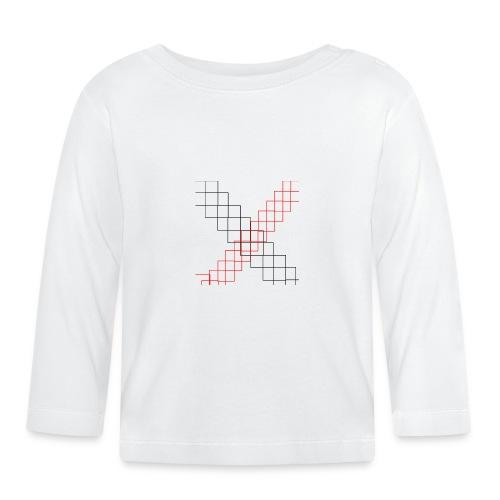 squares - T-shirt manches longues Bébé