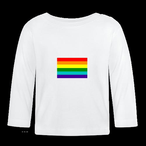 Gay pride rainbow vlag - T-shirt