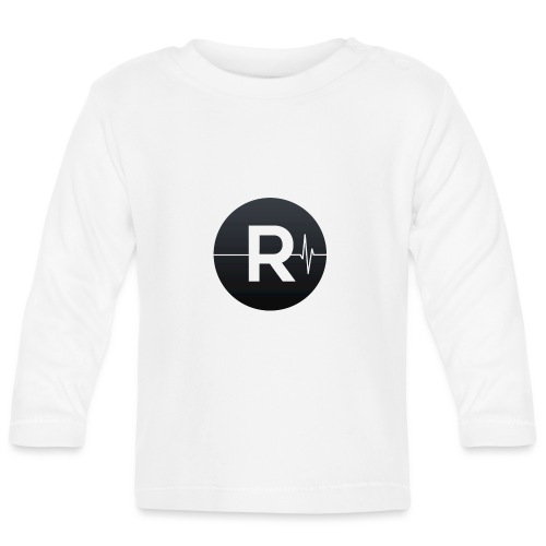 REVIVED Small R (Black Logo) - Baby Long Sleeve T-Shirt