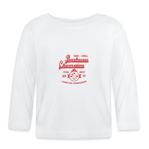 Barbecue-Champion Shirt - King of the Grill T-Shir - Baby Langarmshirt