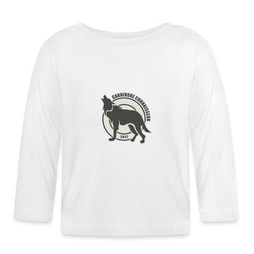 Fleischfresser - Grillshirt - Der mit dem Wolf heu - Baby Langarmshirt