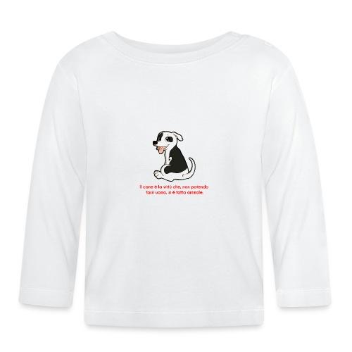 Aforisma cinofilo - Maglietta a manica lunga per bambini