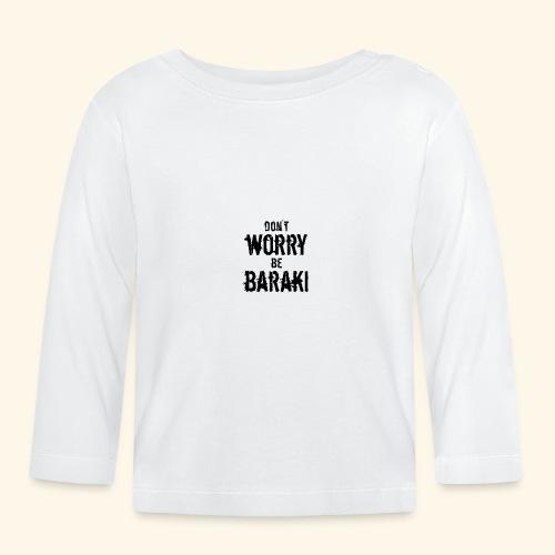 Be Baraki (Noir) - T-shirt manches longues Bébé