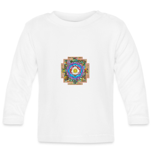 buddhist mandala - Baby Long Sleeve T-Shirt