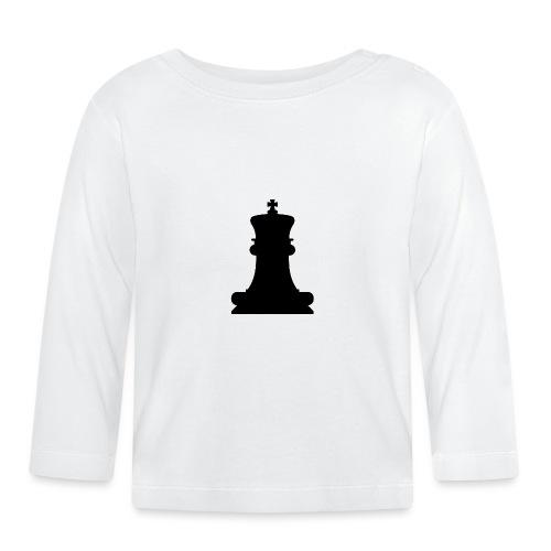 The Black King - Baby Long Sleeve T-Shirt