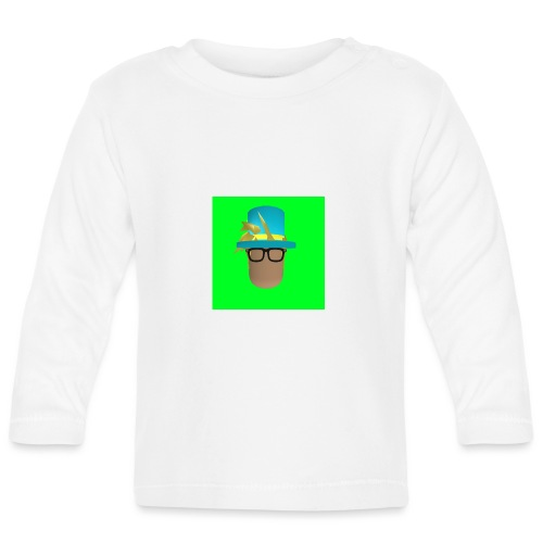 MrWhatWhat Logo Merch - Baby Long Sleeve T-Shirt