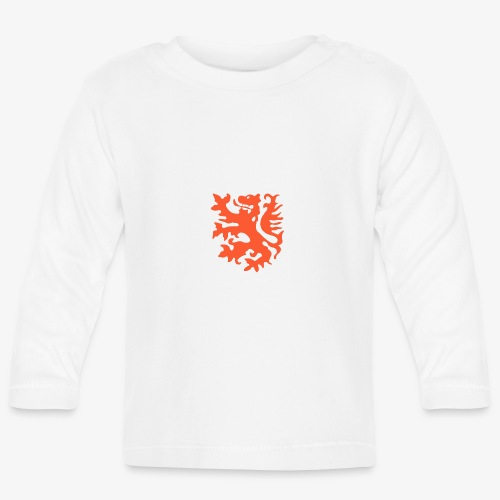 Orange lion Replica Holland 1974 - Baby Long Sleeve T-Shirt