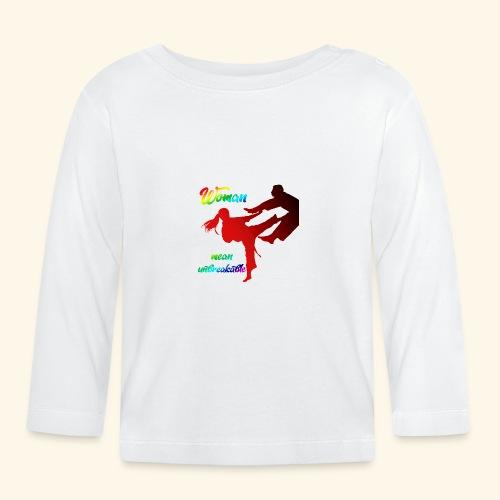 woman mean unbreakable - Maglietta a manica lunga per bambini