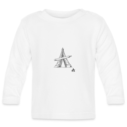 Tour Eiffel Crayon - T-shirt manches longues Bébé
