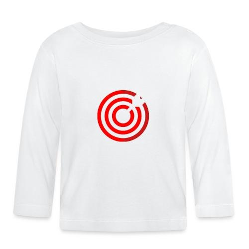 dartboard - Baby Langarmshirt