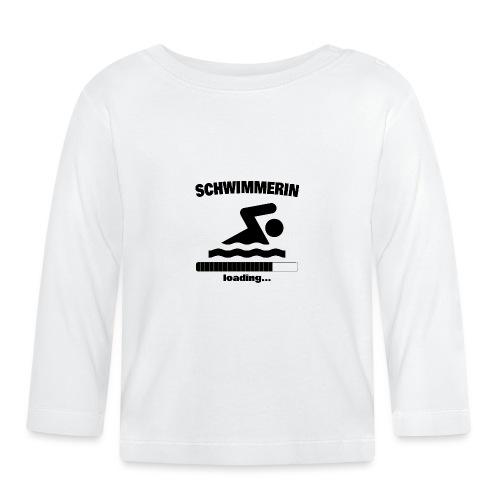 Schwimmerin loading... Baby Motiv - Baby Langarmshirt