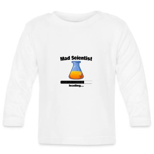 Mad Scientist loading... Baby Motiv - Baby Langarmshirt