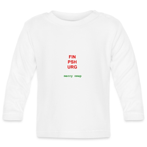 Merry nmap - Baby Long Sleeve T-Shirt