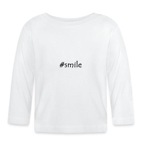 smile - Baby Langarmshirt