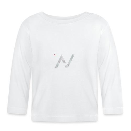 logoalpha blanc - T-shirt manches longues Bébé