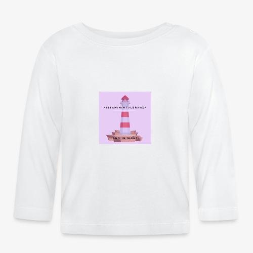 Histaminintoleranz – Land in Sicht (lila) - Baby Langarmshirt