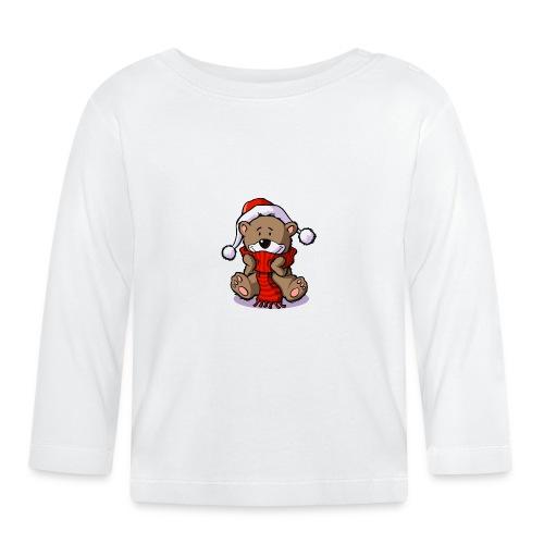 vl080b_winterbaer_4c - Baby Langarmshirt