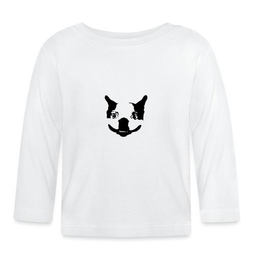 Lennu - Mustavalkoinen - Vauvan pitkähihainen paita