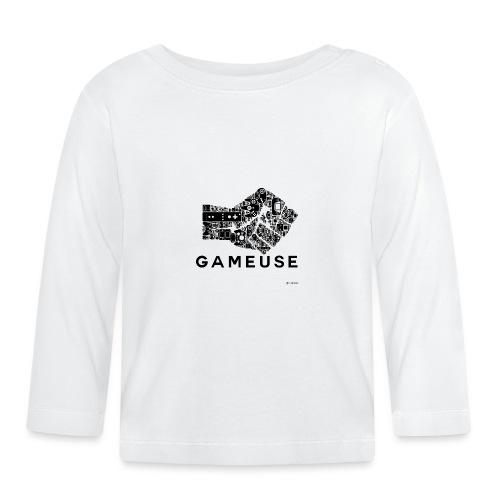 POING GAMEUSE - T-shirt manches longues Bébé