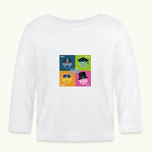 Les Pawns en Société - T-shirt manches longues Bébé