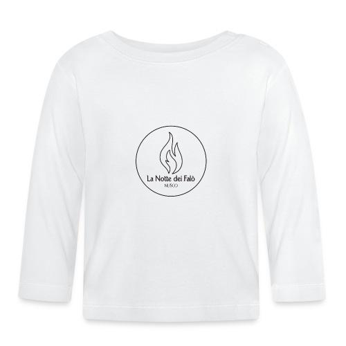 Logo Notte dei falo 1 - Maglietta a manica lunga per bambini