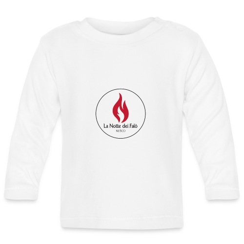 Logo Notte dei falo 2 - Maglietta a manica lunga per bambini