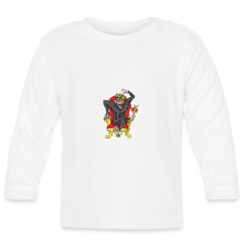 Bitcoin Monkey King - Beta Edition - Baby Langarmshirt