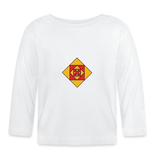 Prismes carrés - T-shirt manches longues Bébé