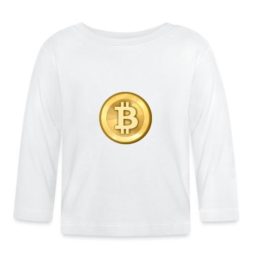Bitcoin Gold Coin - Baby Long Sleeve T-Shirt