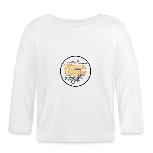 Bitcoin Tag Cloud - Baby Long Sleeve T-Shirt