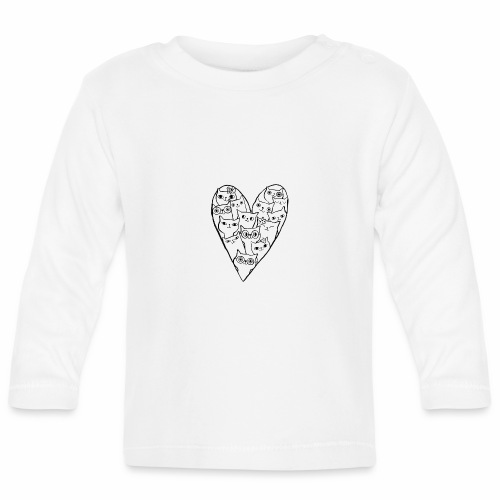I Love Cats - Baby Long Sleeve T-Shirt