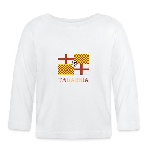 Bandera Tabarnia con escudo y nombre - Camiseta manga larga bebé