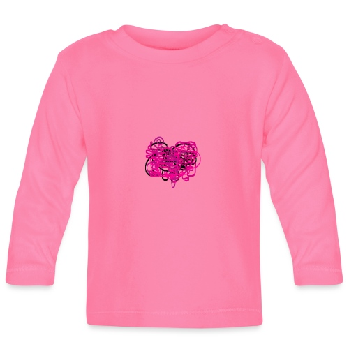 delicious pink - Baby Long Sleeve T-Shirt