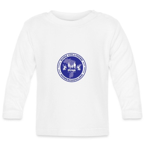 Duna Colligere Blue - Langarmet baby-T-skjorte