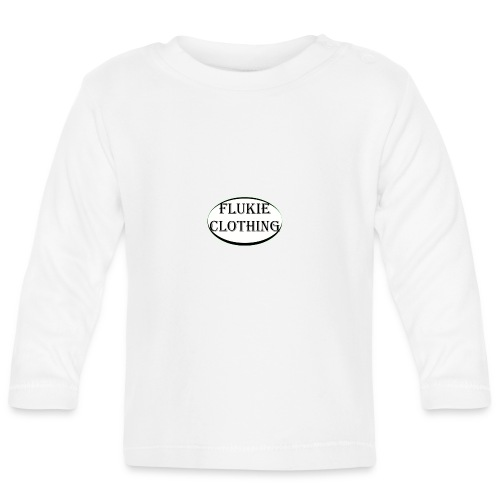 White Logo - Baby Long Sleeve T-Shirt