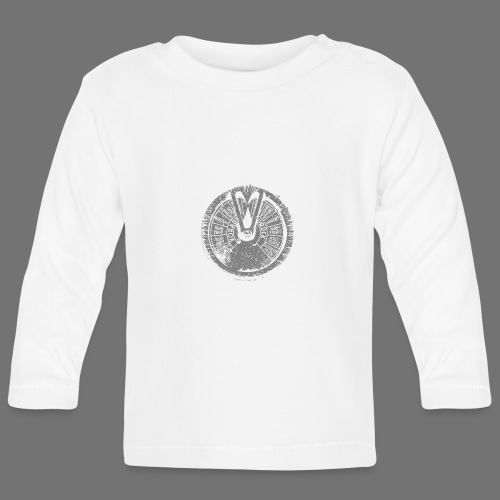 Maschinentelegraph (grå oldstyle) - Langærmet babyshirt
