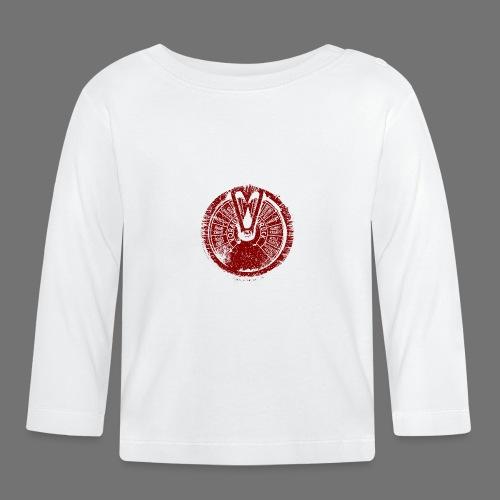 Maschinentelegraph (punainen oldstyle) - Vauvan pitkähihainen paita