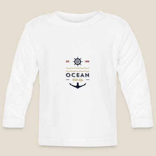 Outdoor ocean - T-shirt manches longues Bébé