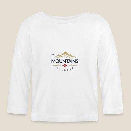 Outdoor mountain - T-shirt manches longues Bébé