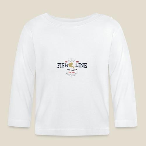 Outdoor fish - T-shirt manches longues Bébé